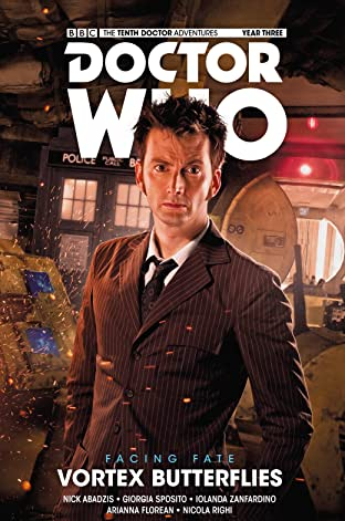 Doctor Who: The Tenth Doctor - Facing Fate Volume 2: Vortex Butterflies Tome 2