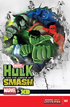 Marvel Universe Hulk: Agents Of S.M.A.S.H. (2013-2014) #2