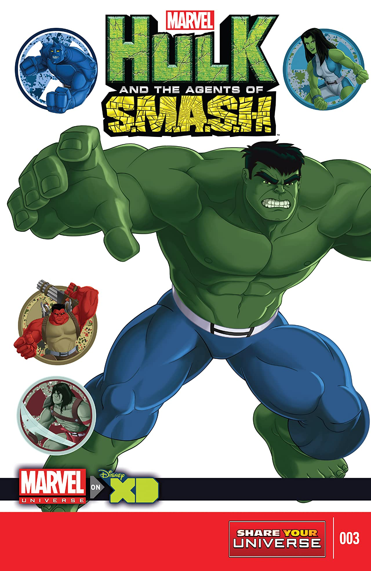 Marvel Universe Hulk: Agents Of S.M.A.S.H. (2013-2014) #3