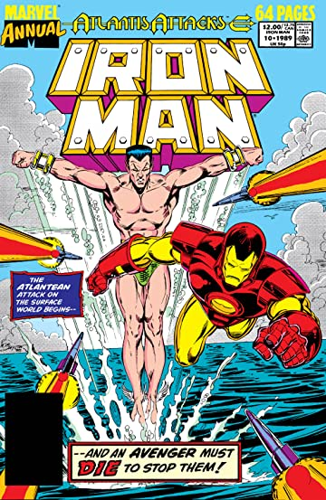 Iron Man (1968-1996) Annual #10