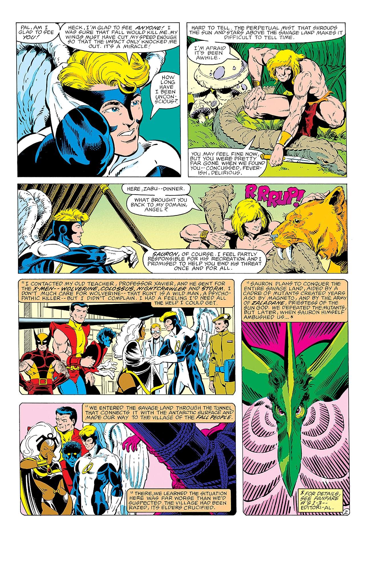 Marvel Fanfare (1982-1992) #4
