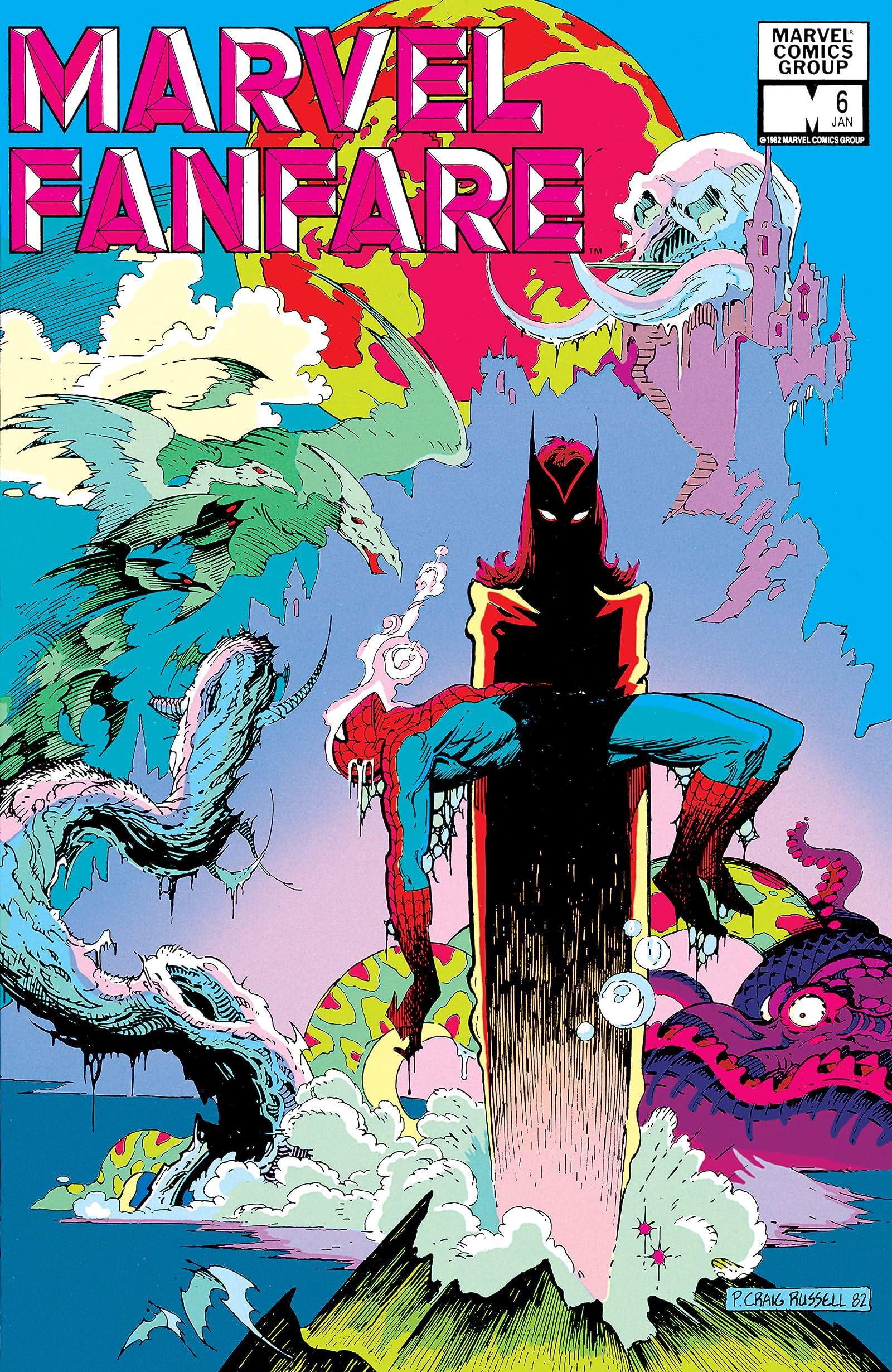 Marvel Fanfare (1982-1992) #6 - Comics by comiXology