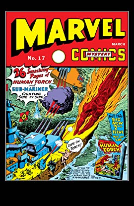 Marvel Mystery Comics (1939-1949) #17