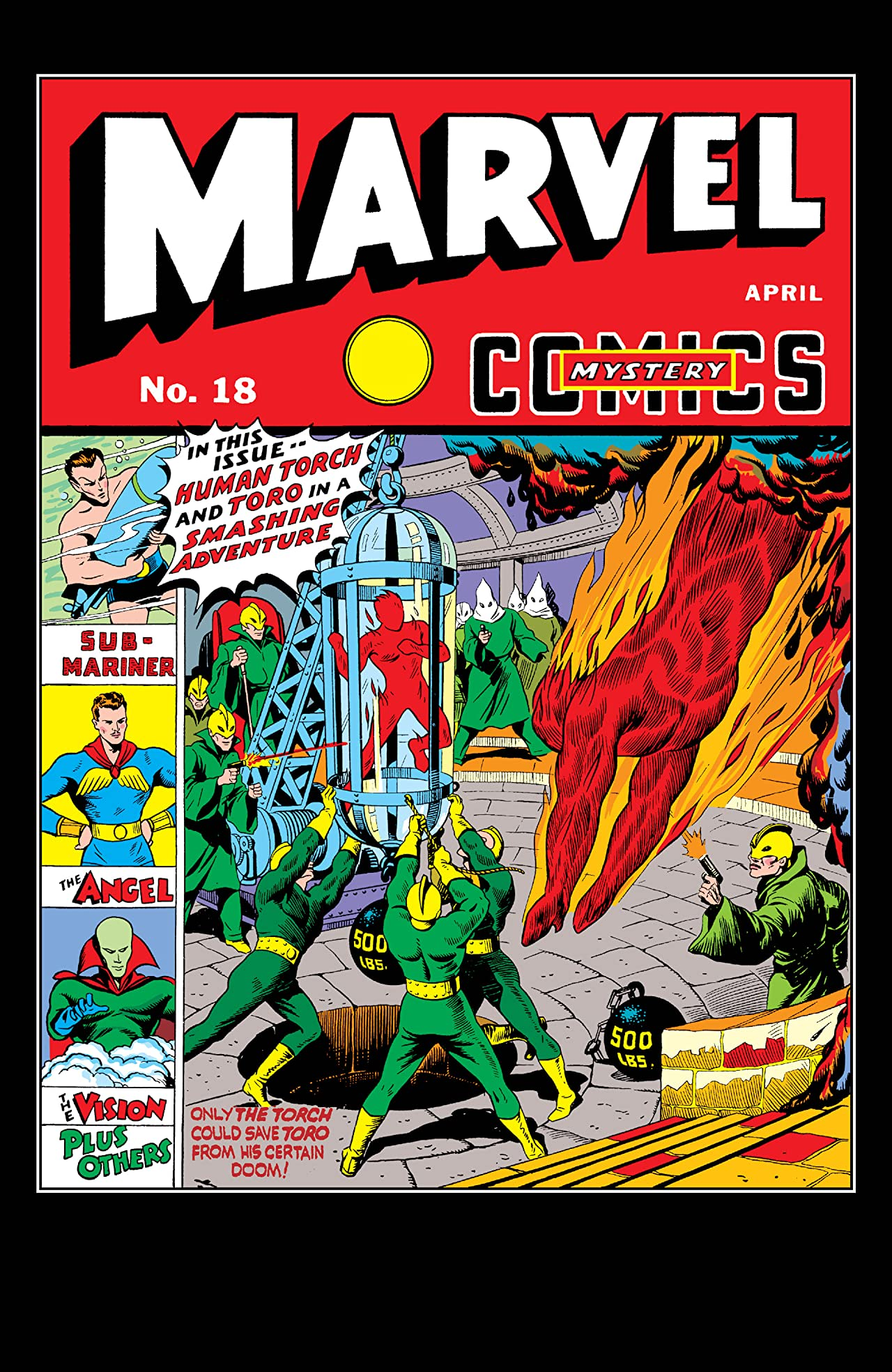 Marvel Mystery Comics (1939-1949) #18