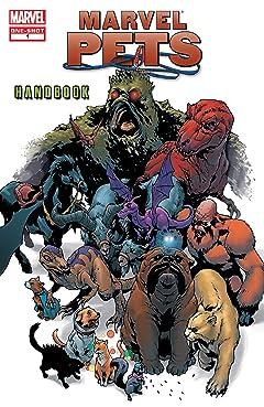 Marvel Pets Handbook (2009) #1