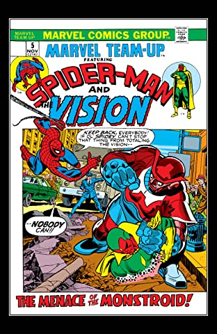 Marvel Team-Up (1972-1985) No.5