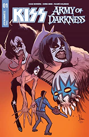 Kiss/Army Of Darkness No.1