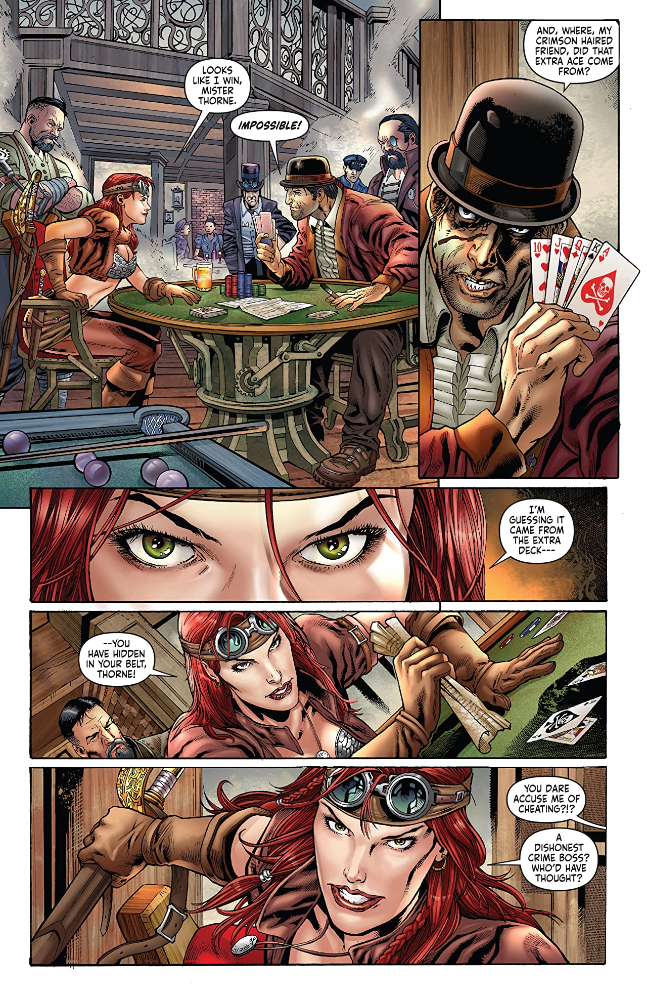 Legenderry: Red Sonja No.1