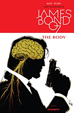 James Bond: The Body (2018) No.2 (sur 6)
