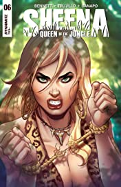 Sheena: Queen Of The Jungle #6