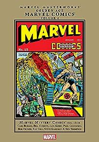 Golden Age Marvel Comics Masterworks Vol. 4