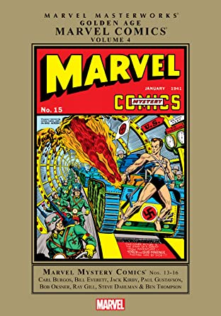 Golden Age Marvel Comics Masterworks Vol. 4