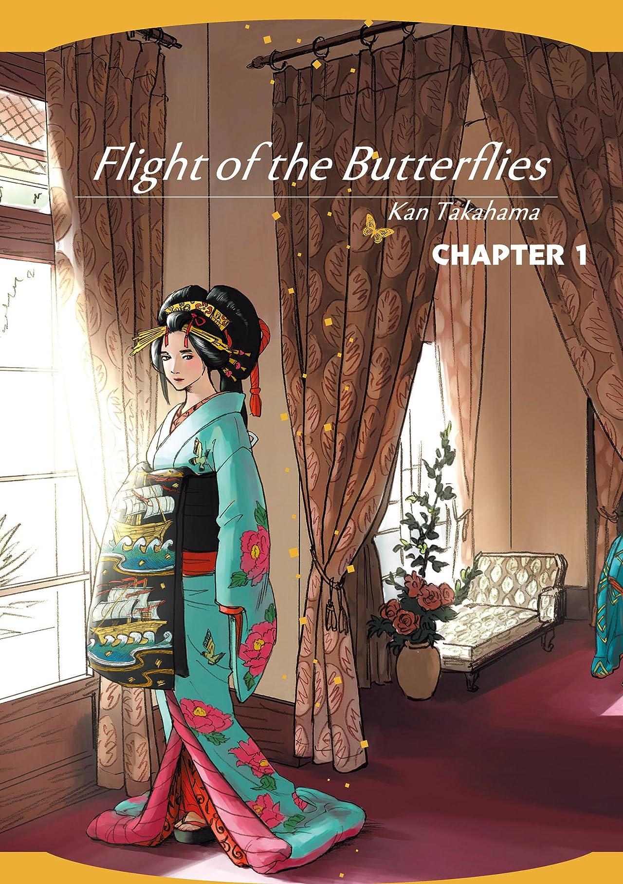 Flight of the Butterflies #1