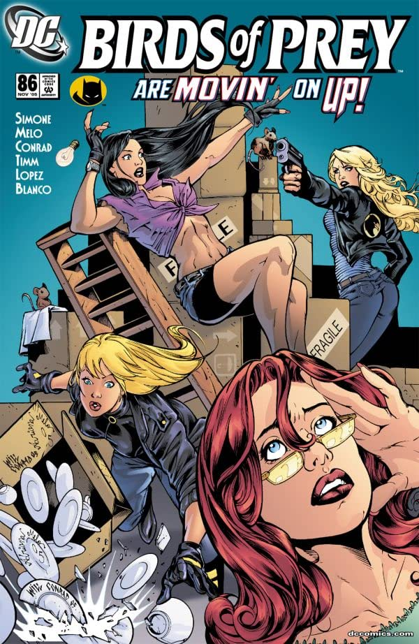 Birds of Prey (1999-2009) #86