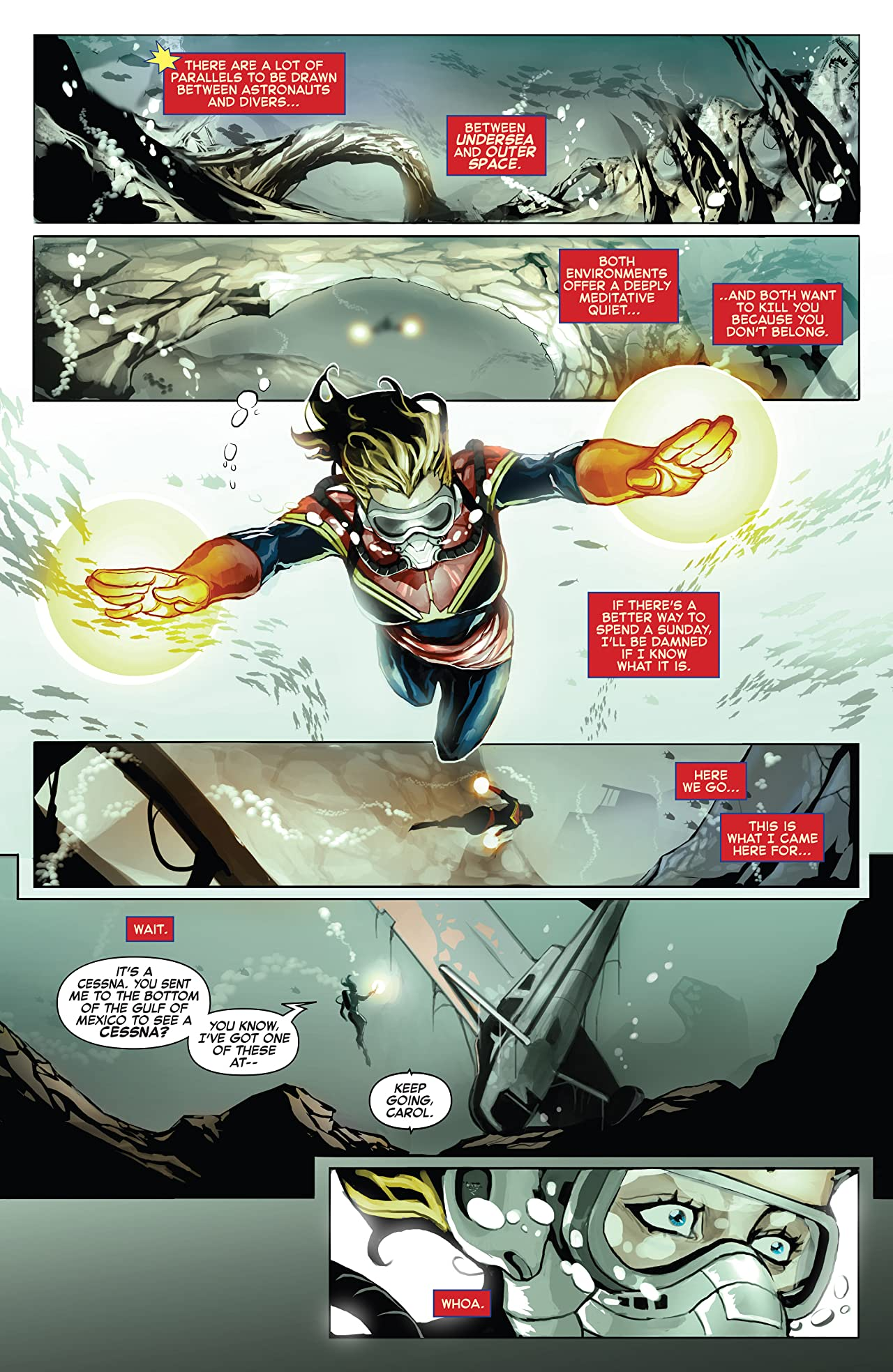 Captain Marvel Vol. 2: Down