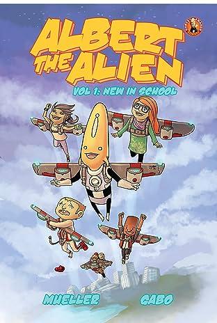 Albert the Alien Tome 1: New in School
