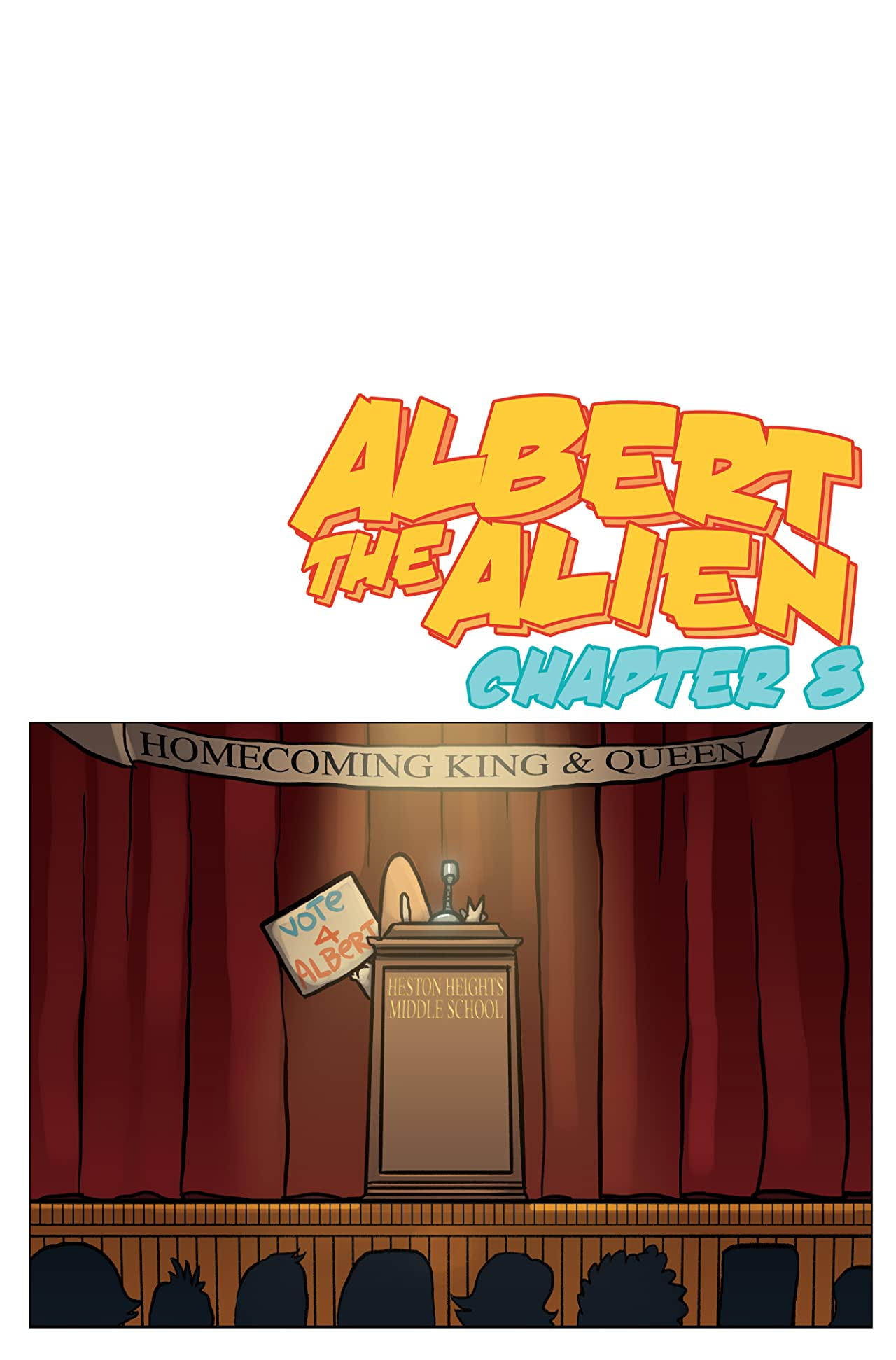 Albert the Alien #8