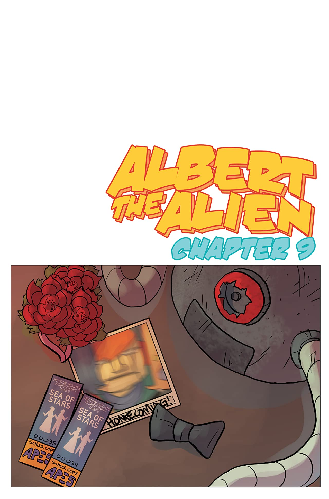 Albert the Alien #9
