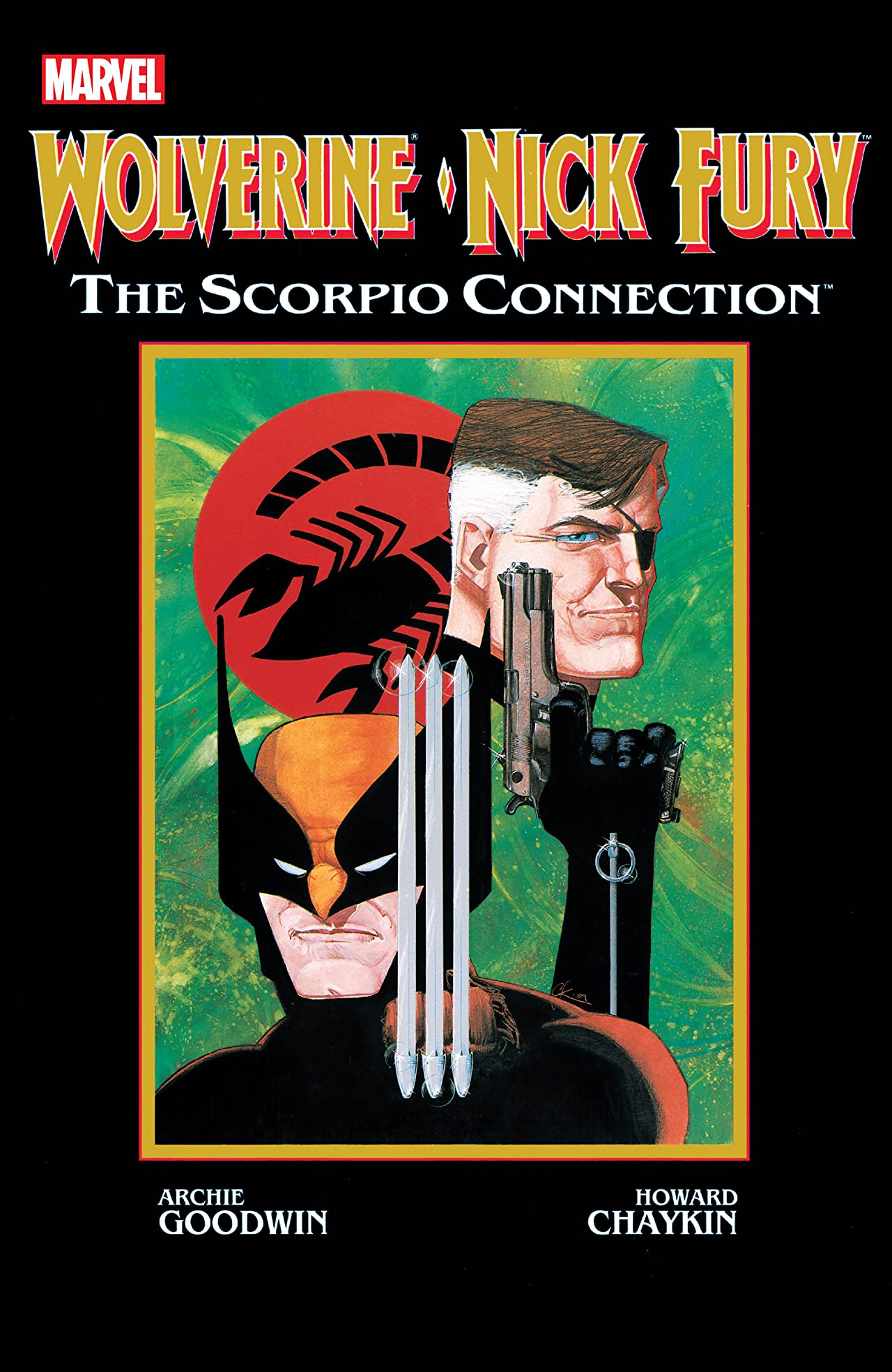 Wolverine/Nick Fury: Scorpio Connection (1989) #1