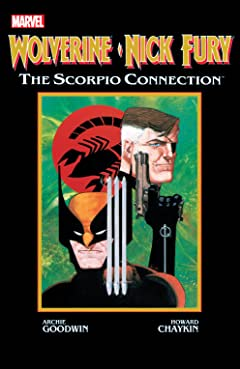 Wolverine/Nick Fury: Scorpio Connection (1989) No.1