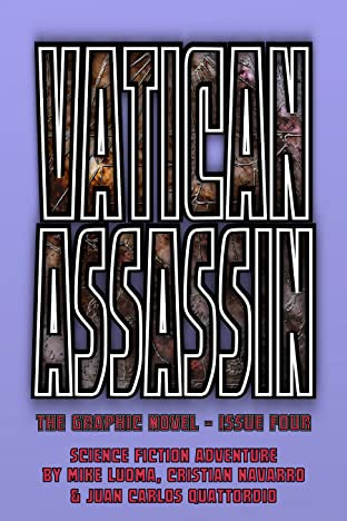 Vatican Assassin - The Graphic Novel #4