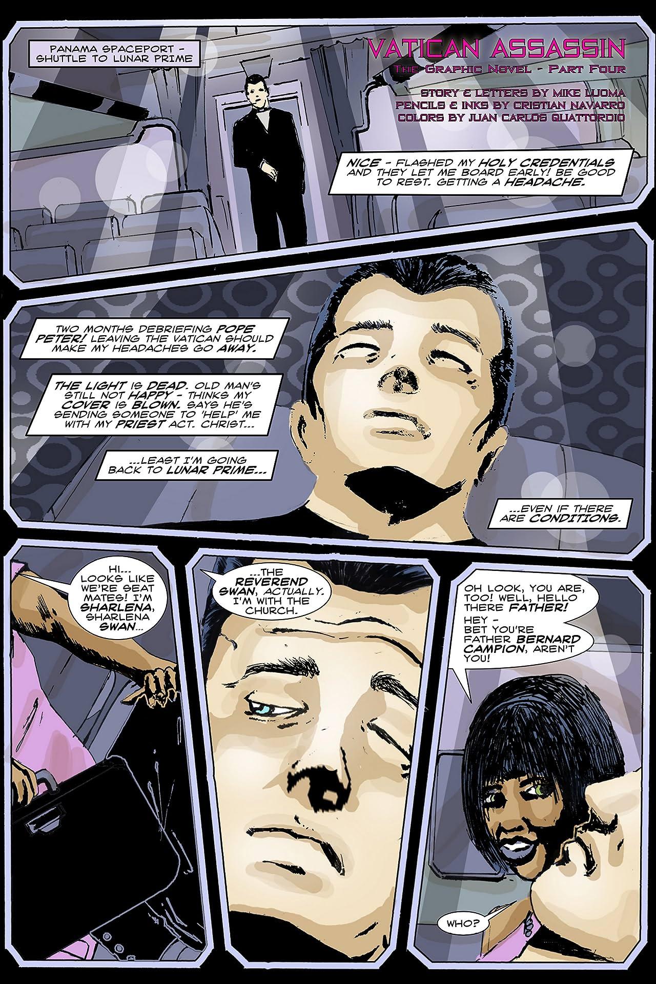Vatican Assassin - The Graphic Novel #4