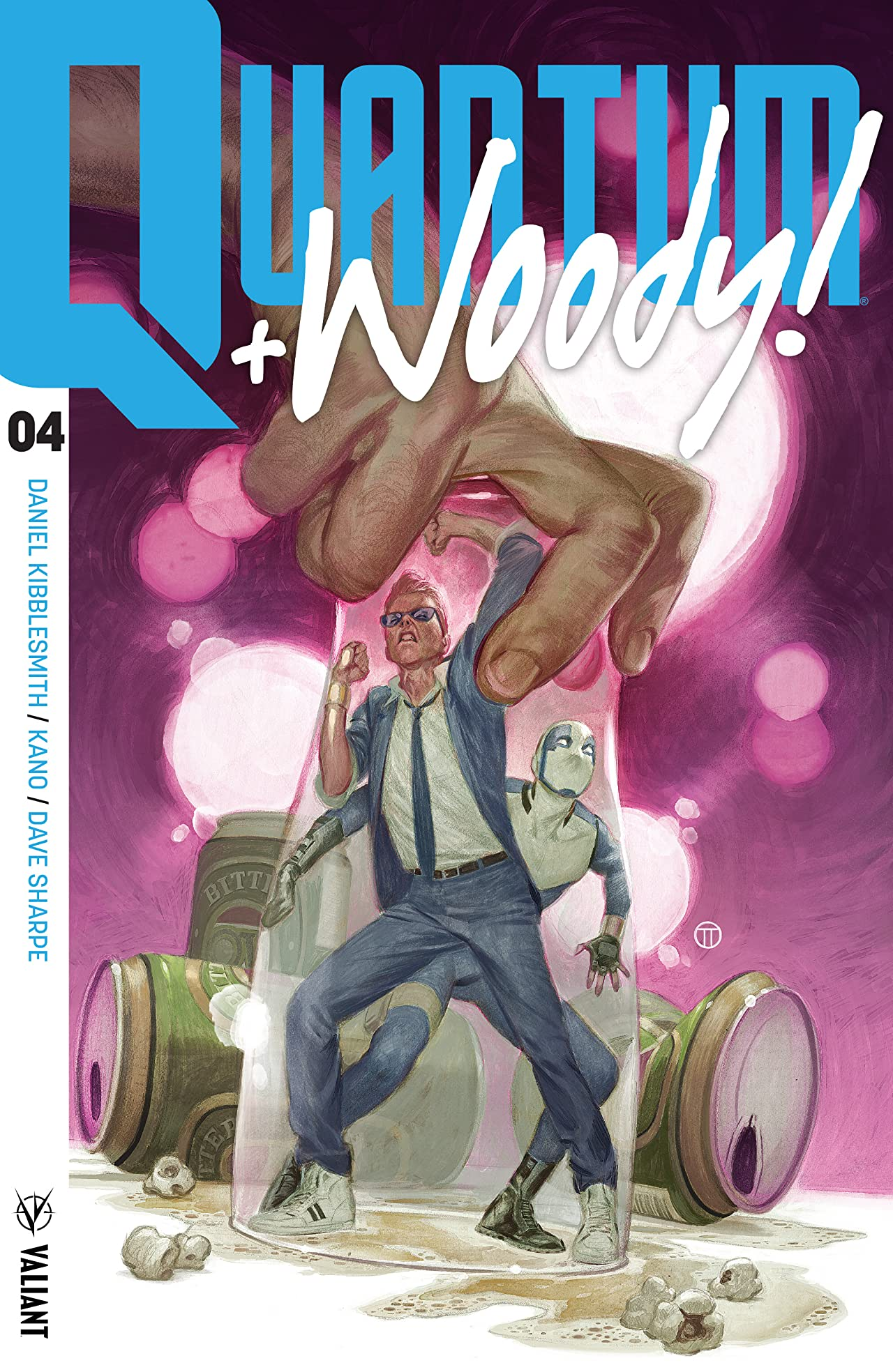 Quantum and Woody! (2017) #4