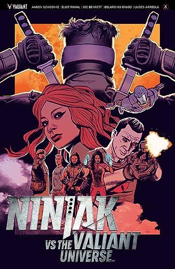 Ninjak vs. the Valiant Universe No.3