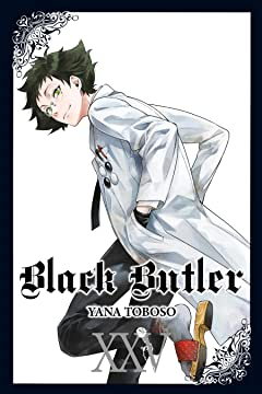 Black Butler Tome 25
