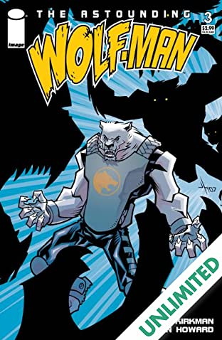 The Astounding Wolf-Man #3