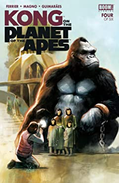 Kong on the Planet of the Apes No.4 (sur 6)
