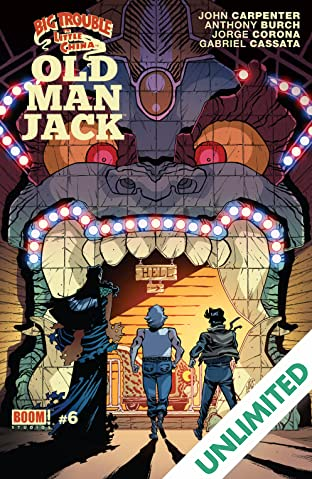 Big Trouble in Little China: Old Man Jack #6