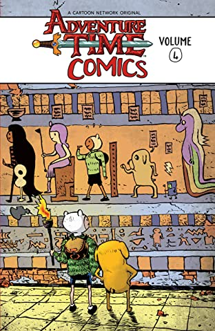 Adventure Time Comics Tome 4