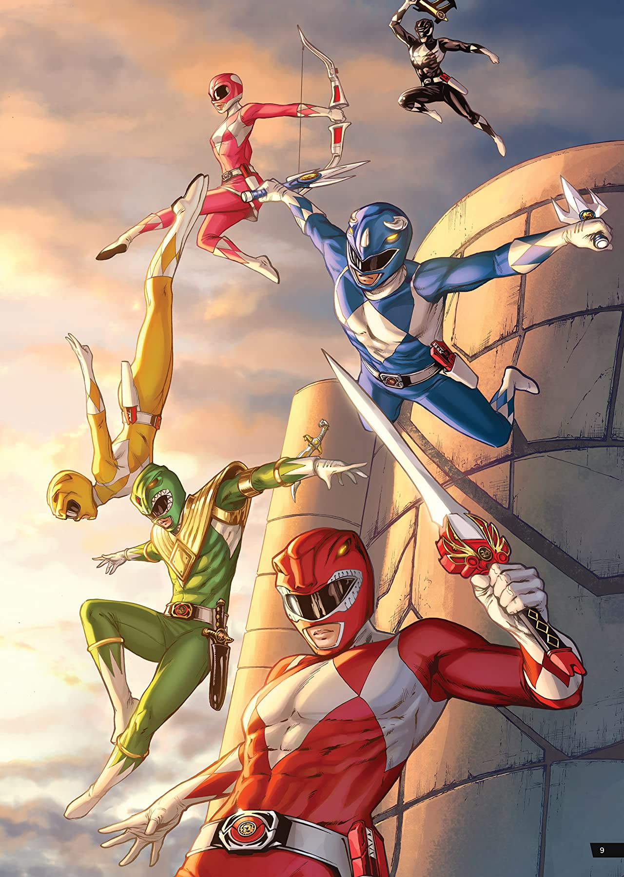 Saban's Power Rangers Artist Tribute