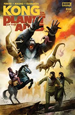 Kong on the Planet of the Apes #5 (of 6)