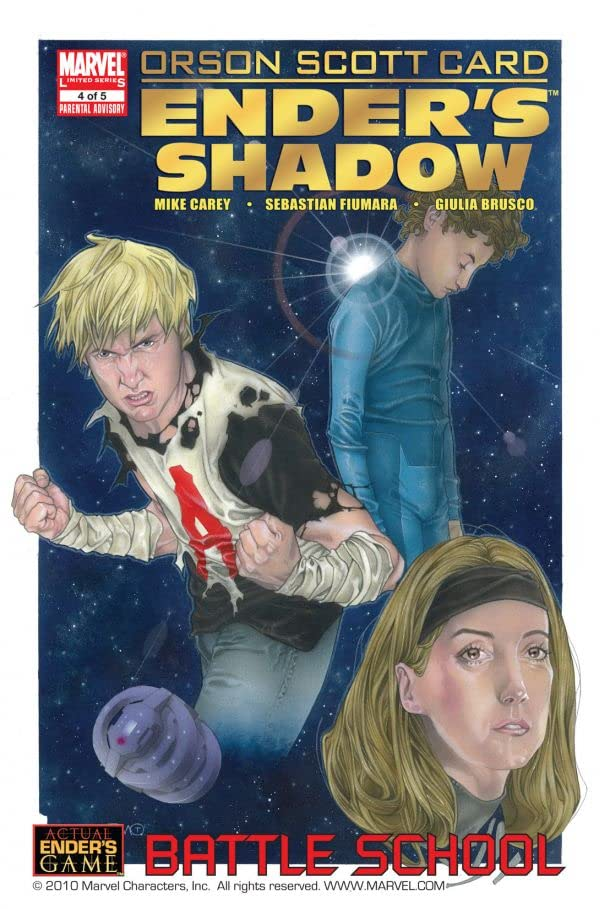 Ender's Shadow Book One: Battle School #4 (of 5)