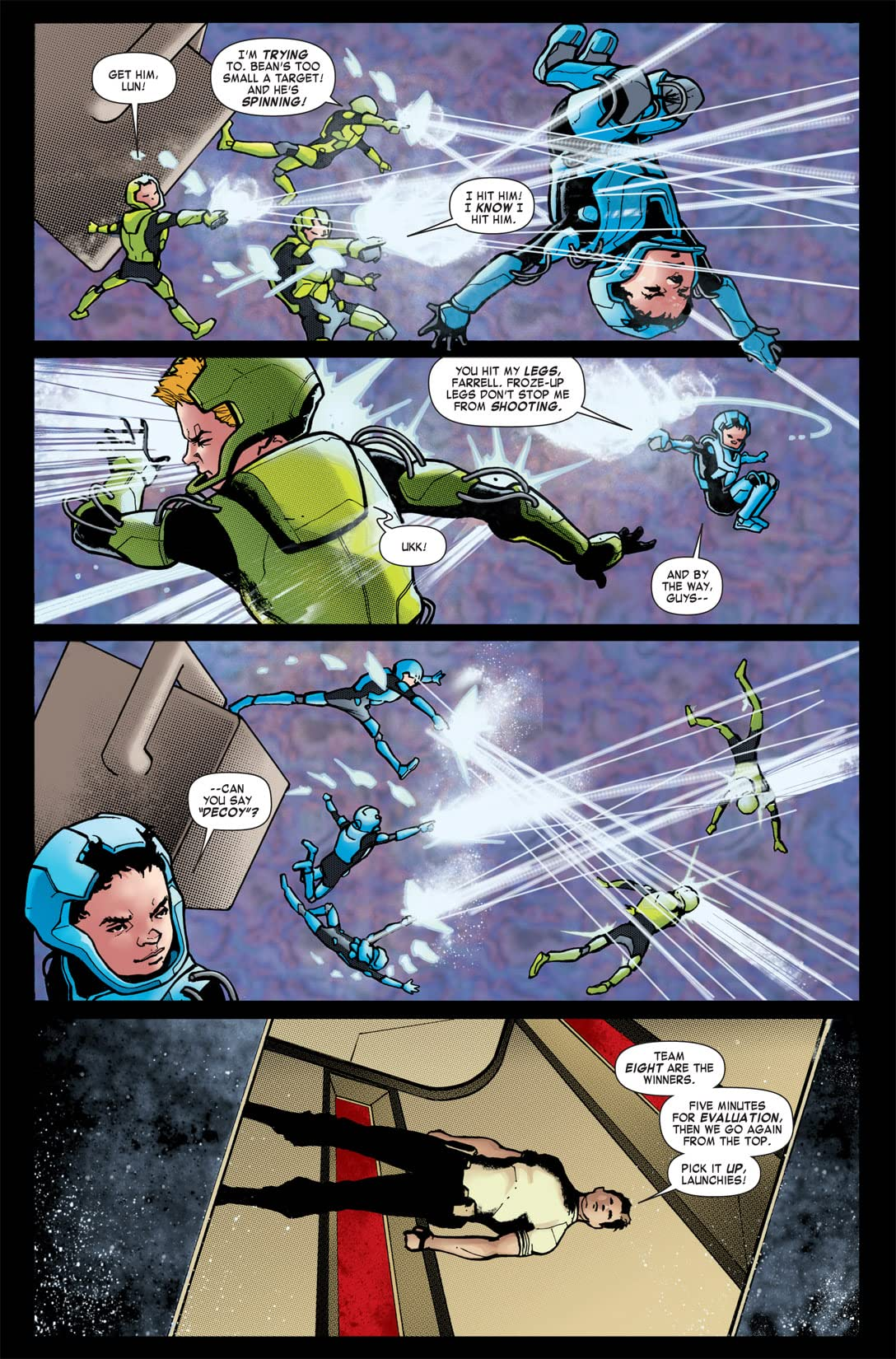 Ender's Shadow Book One: Battle School #5 (of 5)