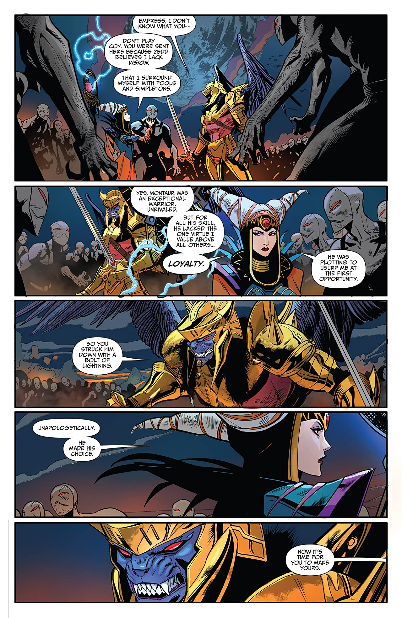 Saban's Go Go Power Rangers #8