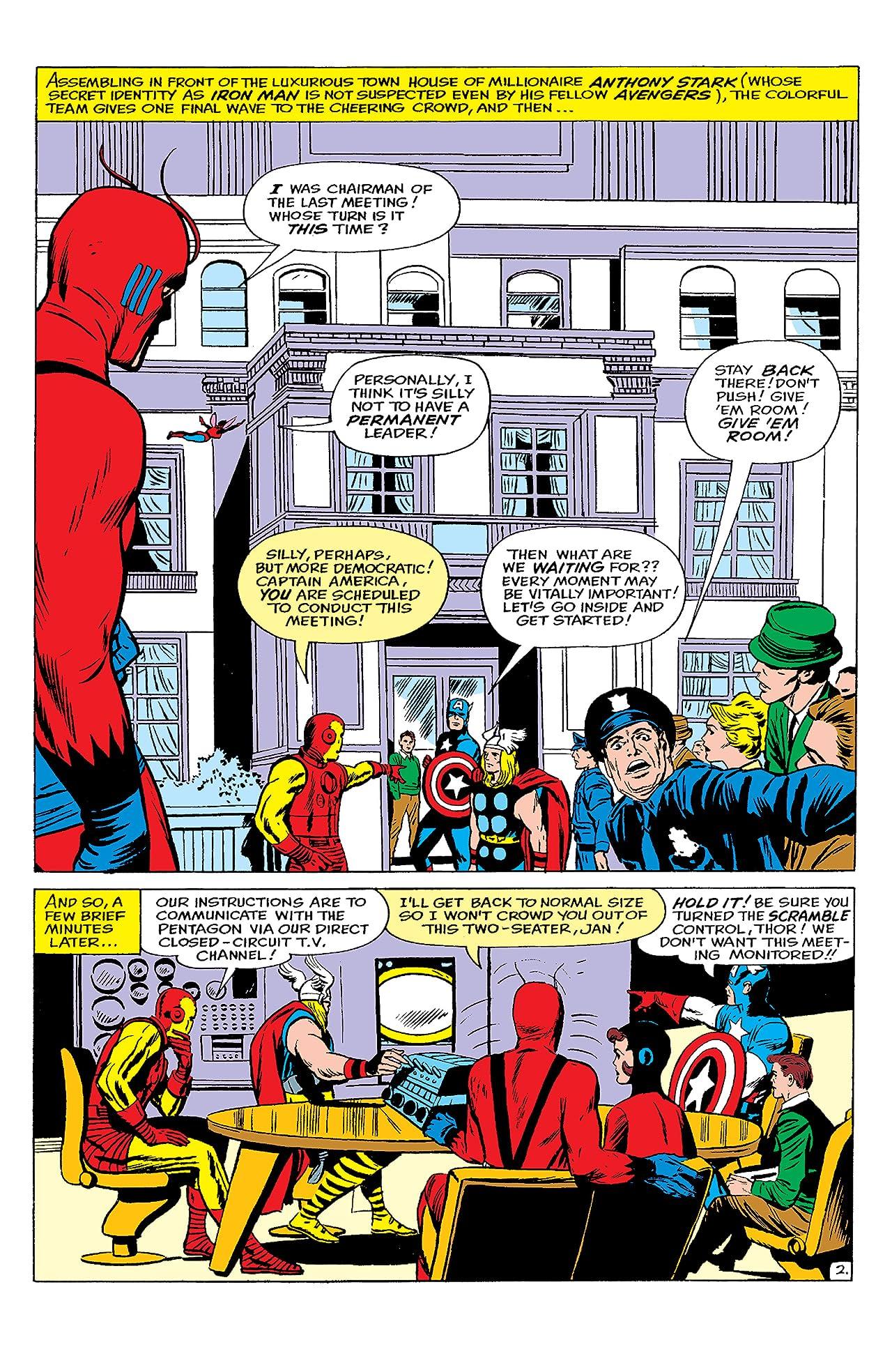 Avengers Classic (2007-2008) #8
