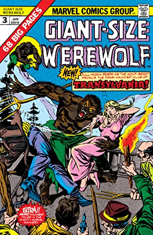Giant-Size Werewolf By Night (1974-1975) #3