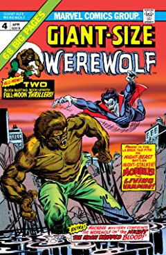 Giant-Size Werewolf By Night (1974-1975) #4