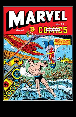 Marvel Mystery Comics (1939-1949) #22