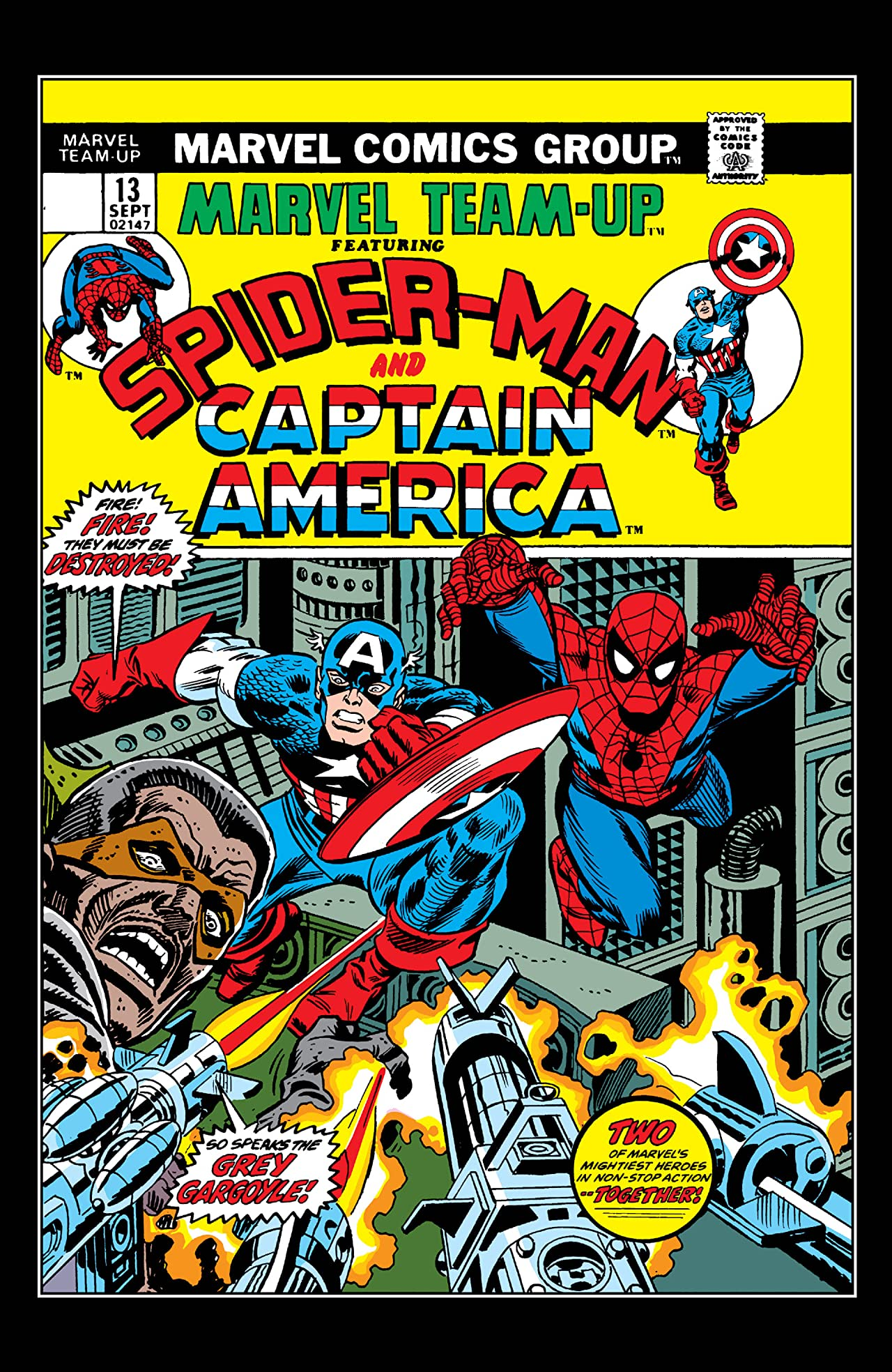 Marvel Team-Up (1972-1985) #13