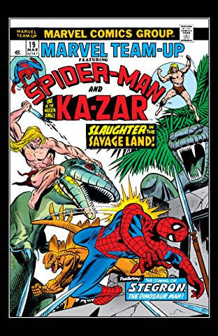 Marvel Team-Up (1972-1985) #19