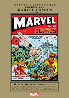 Golden Age Marvel Comics Masterworks Vol. 5