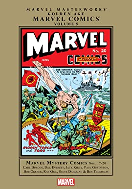 Golden Age Marvel Comics Masterworks Vol. 5