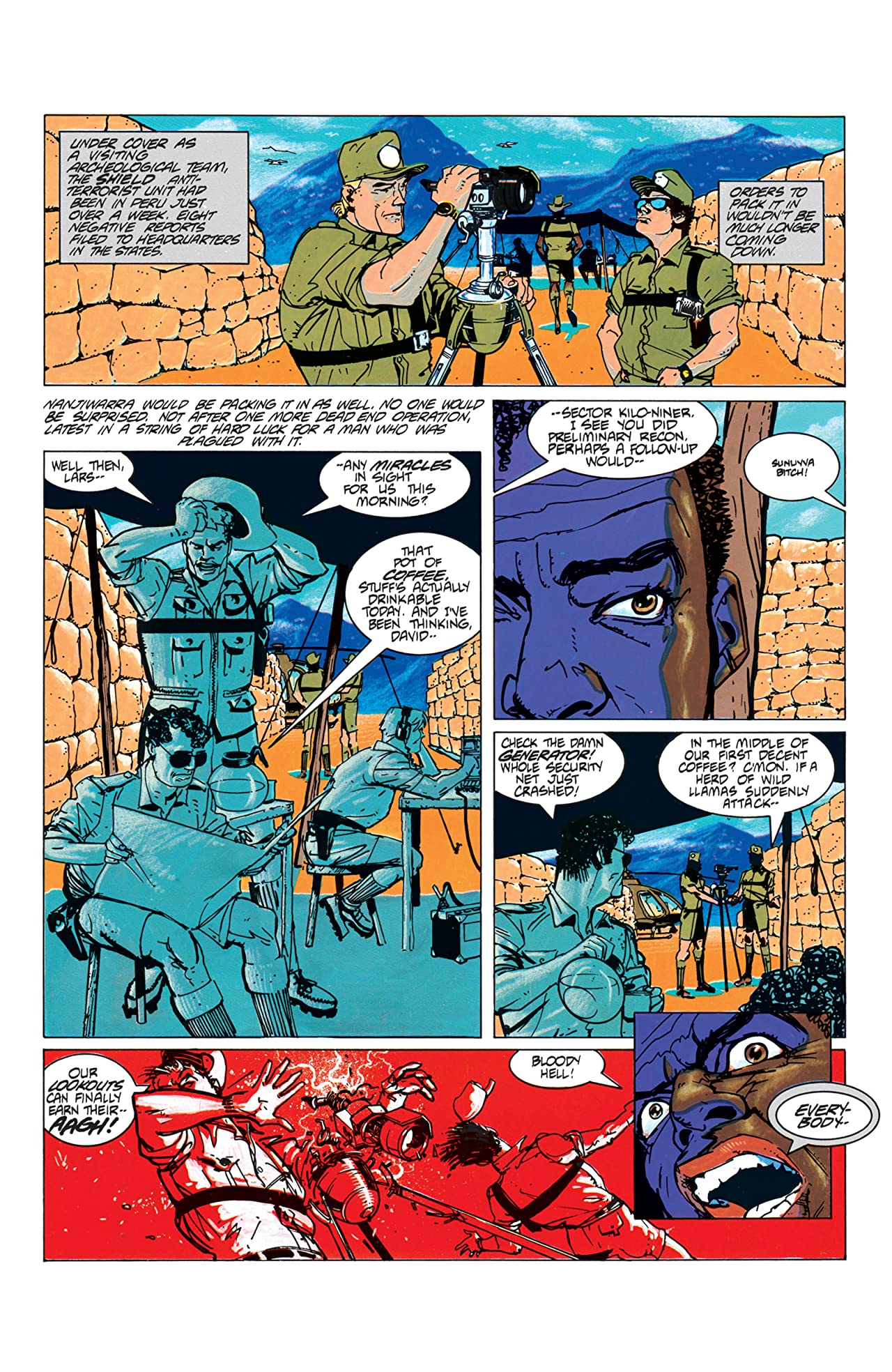 Wolverine Nick Fury Scorpio Comics By Comixology
