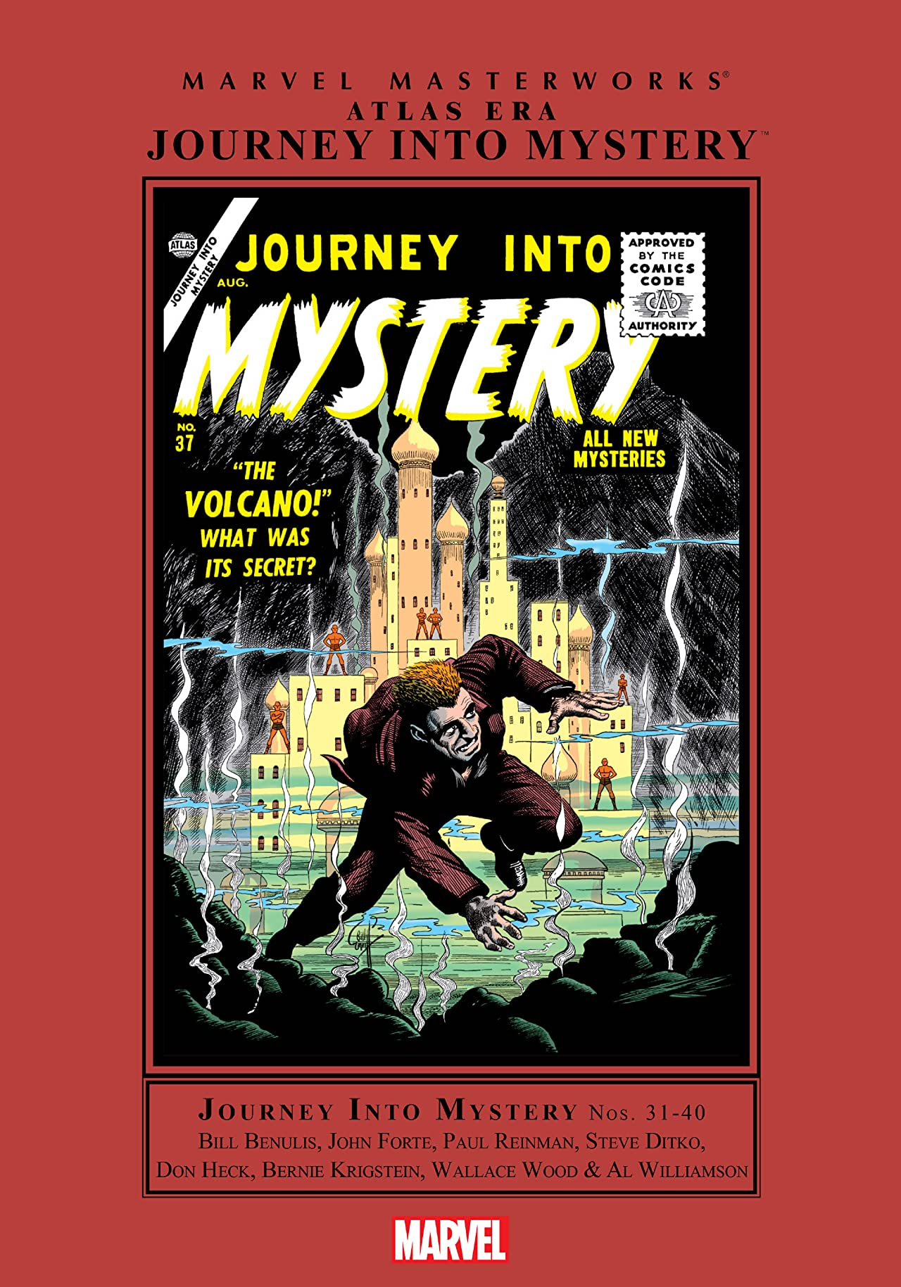 Atlas Era Journey Into Mystery Masterworks Vol. 4