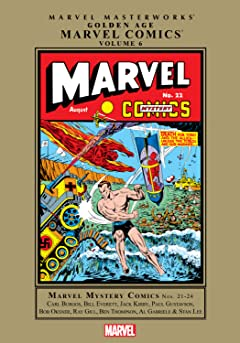 Golden Age Marvel Comics Masterworks Vol. 6