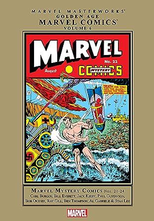 Golden Age Marvel Comics Masterworks Tome 6